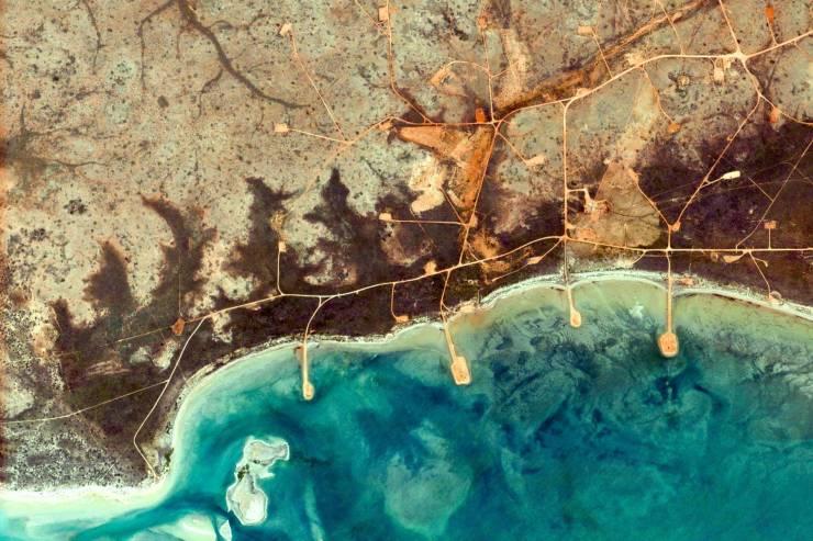 Google Earth publica las mejores imágenes tomadas desde el espacio a la Tierra