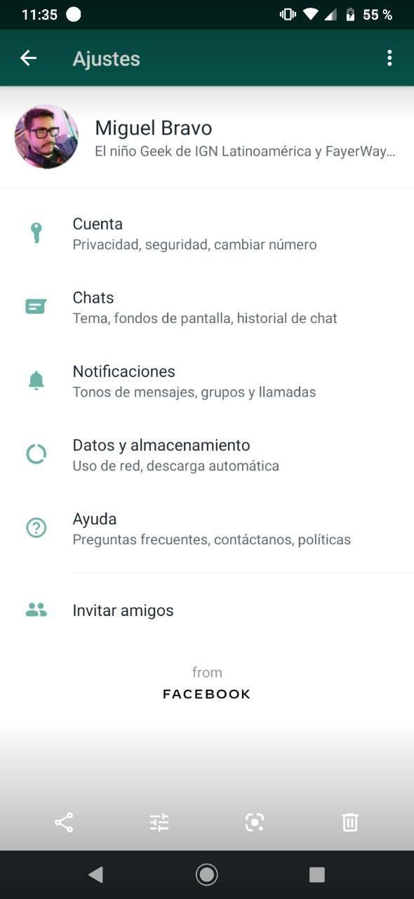 WhatsApp foto perfil