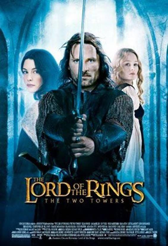 lord of the rings 2 towers