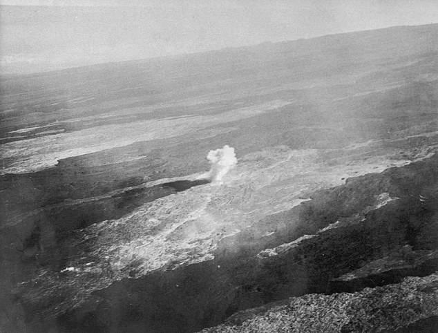Bombas: investigadores encuentra antiguos explosivos en volcán Mauna Loa