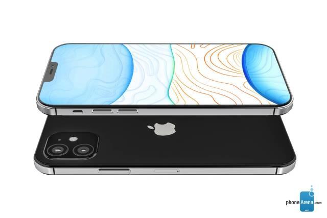 iPhone 12 renders