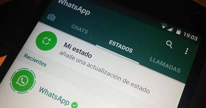 Estados WhatsApp Bis