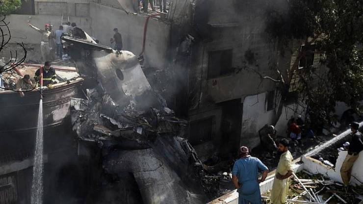 Pakistán accidente aereo