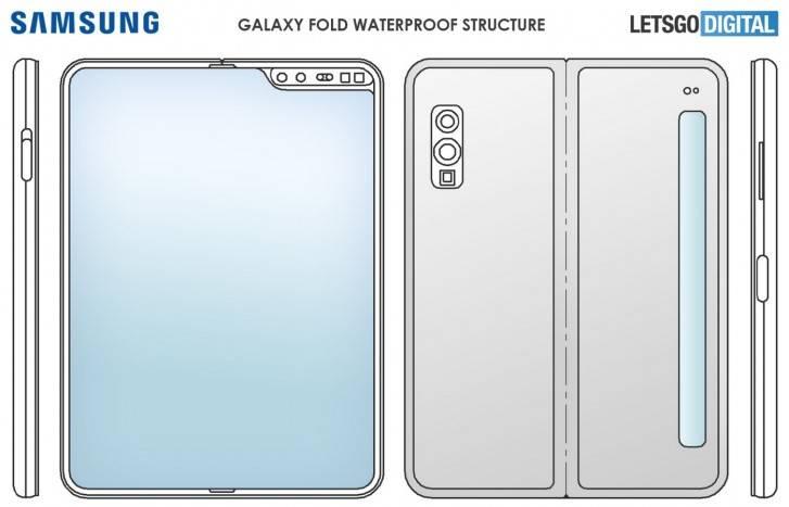 Patente del posible Samsung Galaxy Fold
