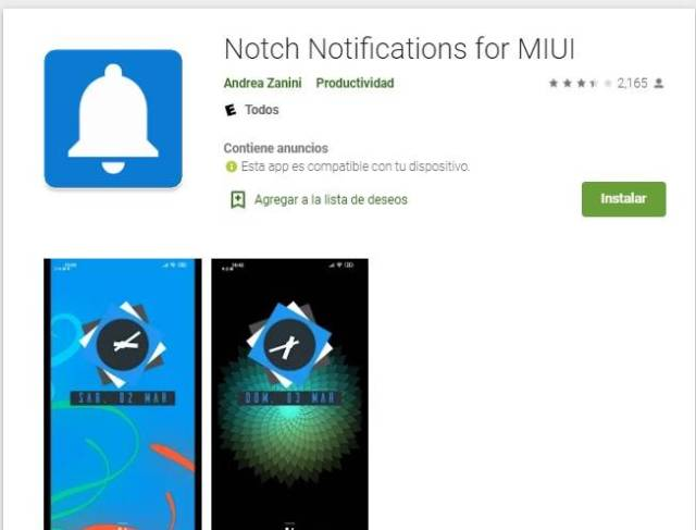 Notch Notification for MIUI