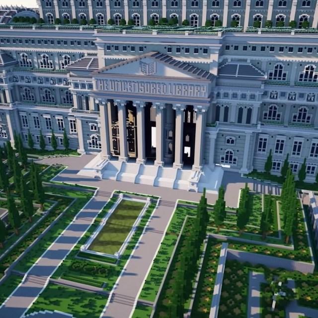Minecraft Biblioteca Sin Censura