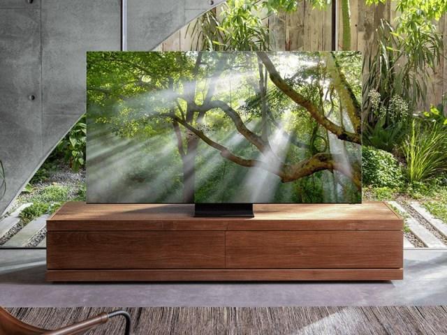 Samsung pantallas QLED 8K