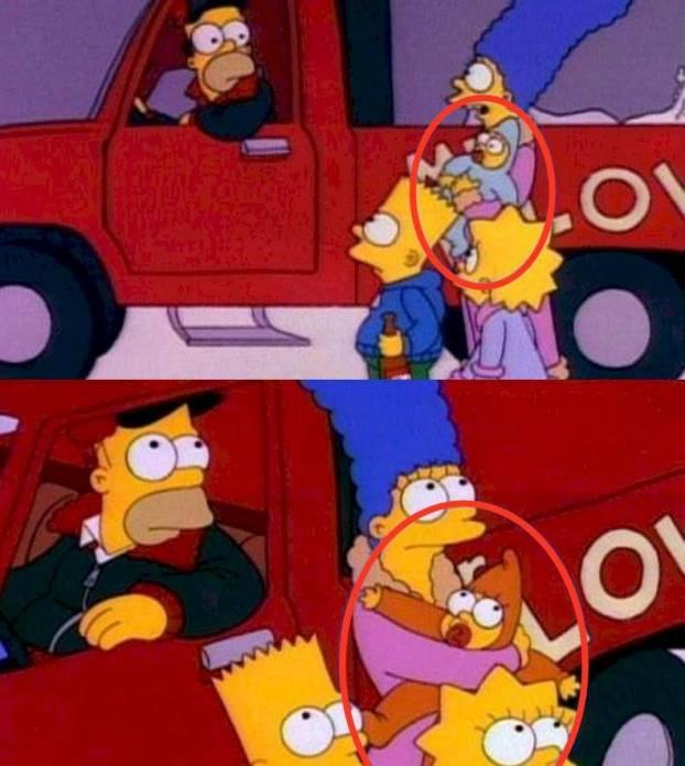 Los Simpson errores