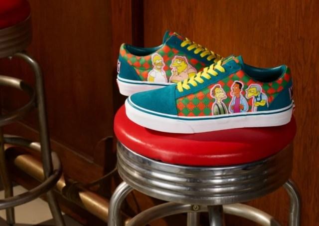 Los Simpson Vans