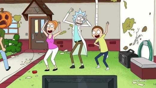 Rick y Morty Bojack Horseman