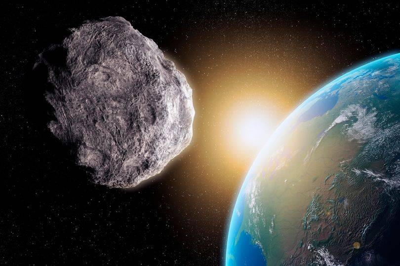 Asteroide visto por la NASA