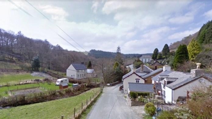 Aberhosan, Gales, es la sede de esta historia curiosa.
