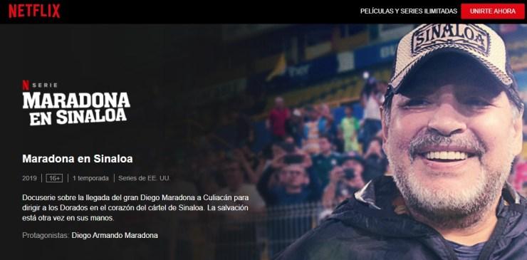 Maradona en Netflix