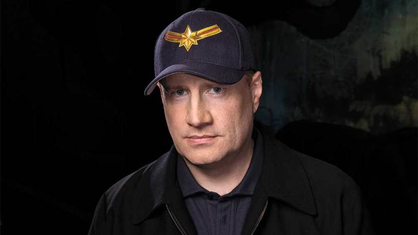 Kevin Feige, jefe de Marvel.