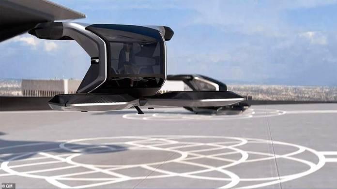 Cadillac volador de GM.