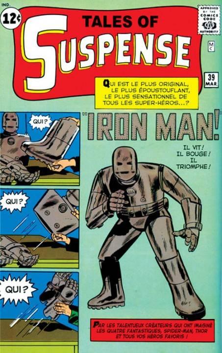 Primera edición de Iron Man, marzo de 1963