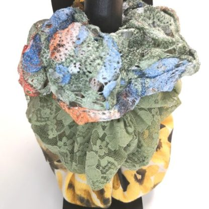 Scrunchies i 3-pack, grön