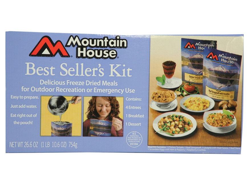 Mountain House Best Sellers Freeze Dried Food Kit