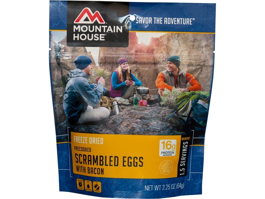 Mountain House Scrambled Eggs Bacon Freeze Dried Food