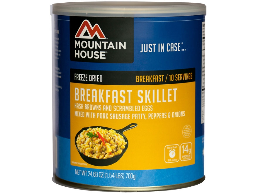 Mountain House 10 Serving Breakfast Skillet Freeze Dried