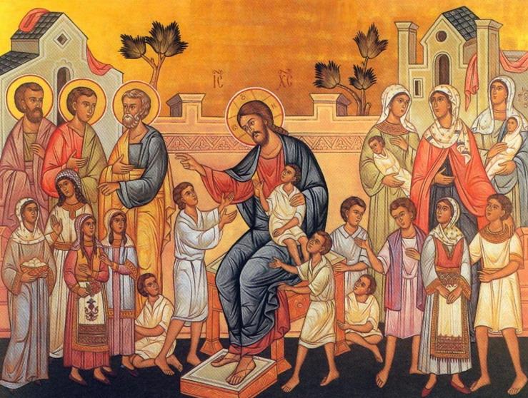 Hristos i deca