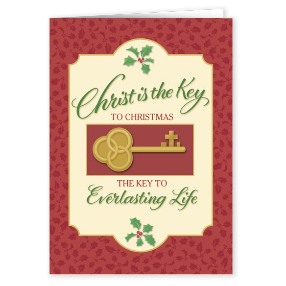 The Key To Christmas Card Set Of 20 Messages Of Love