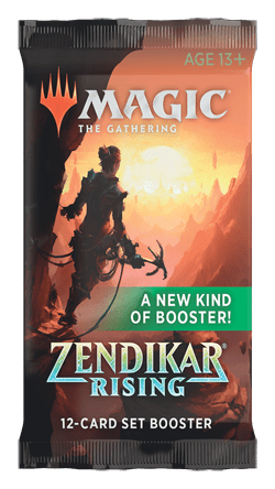 Magic the Gathering: Zendikar Rising - Set Booster Pack