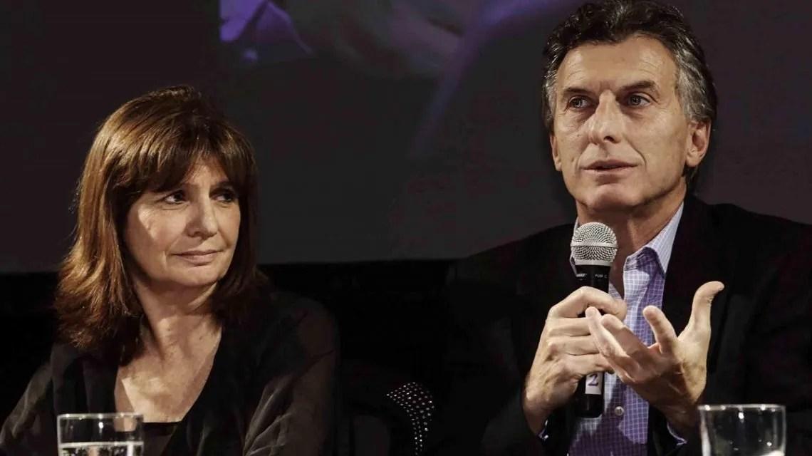 Patricia Bullrich y Mauricio Macri