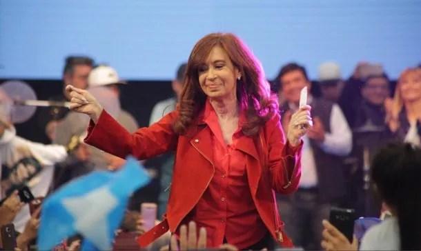 Cristina Kirchner en La Matanza<br>