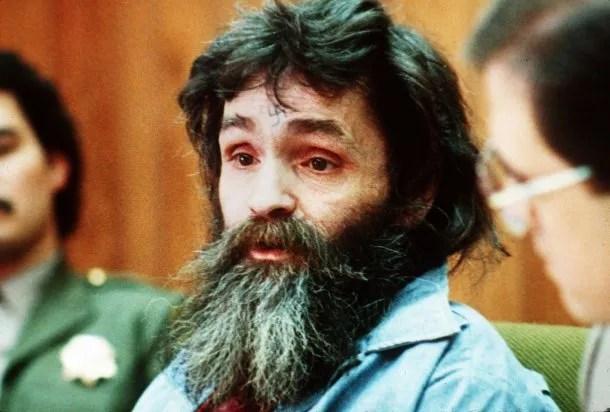 Charles Manson en 1986.