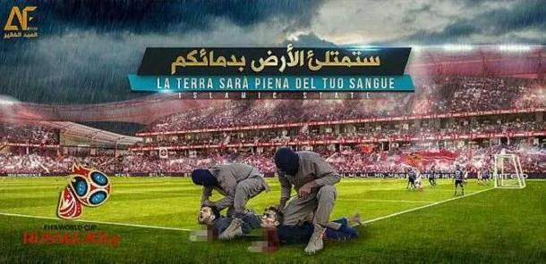 Isis amenazó a Messi y Cristiano Ronaldo por el Mundial de Rusia