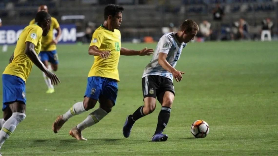 Argentina y Brasil Sub 20 - Crédito:@Sub20Chile2019