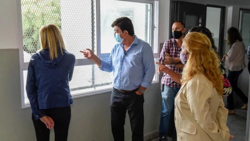 Fernando Espinoza: Esta inversión representa la transformación de la  educación en La Matanza