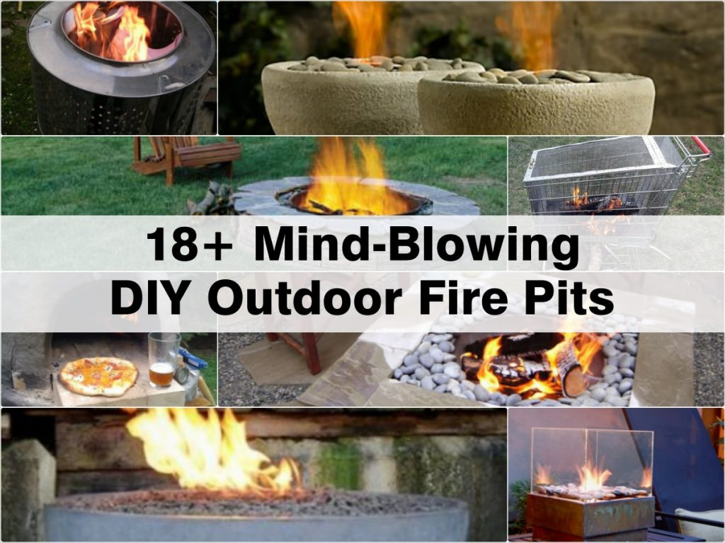 18+ Mind-Blowing DIY Outdoor Fire Pits on Diy Outdoor Fire  id=61498