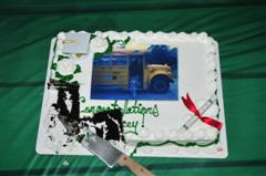 Jacey's graduation cake
