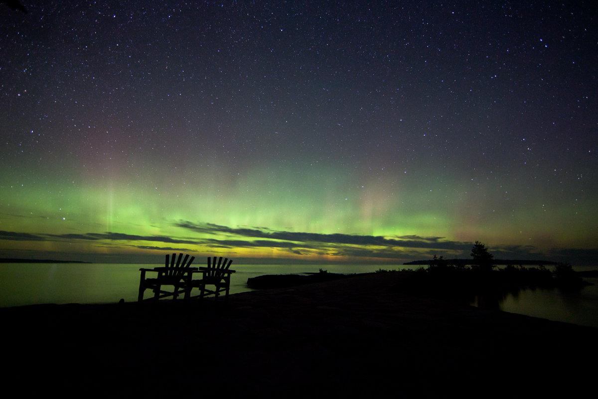Northern Lights Display Tonight