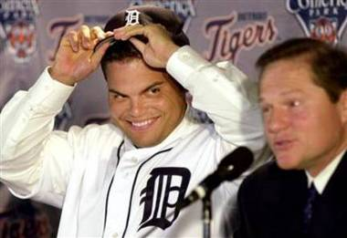 Image result for pudge rodriguez tigers 2004