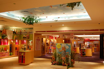 Going Places American Girl Store Offers A Colorful Spot For Lunch