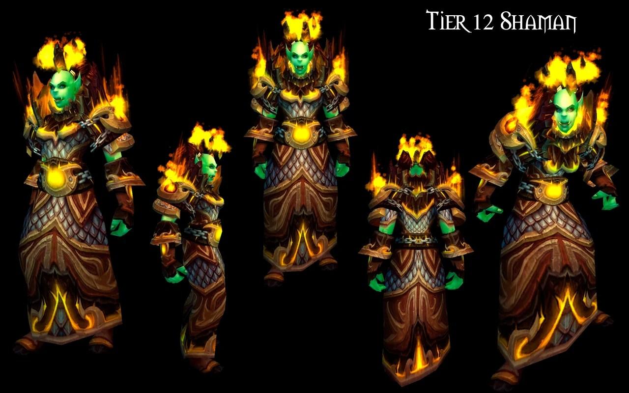 Tier 12 Shaman gear