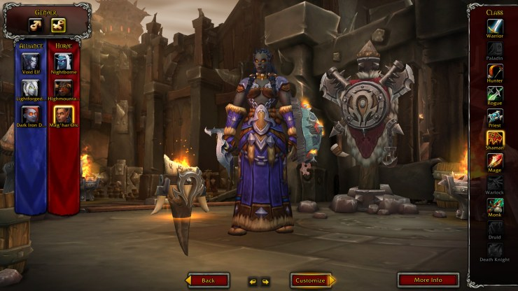 World of Warcraft: Dark Iron Dwarves and Mag'har Orcs are now playable in Battle For Azeroth alpha
