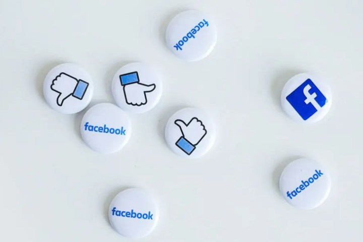 Photo of Facebook buttons