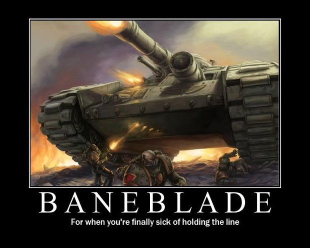 Baneblade Image Warhammer 40K Fan Group Mod DB