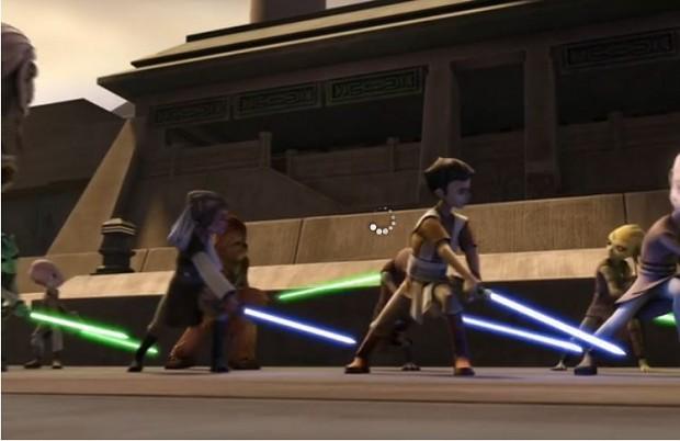 Younglings Strike Back Image Clone Wars Mod Db