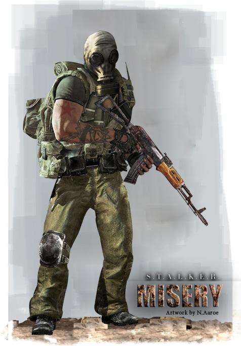 Russian Stalker Veteran Image NAaroe Mod DB