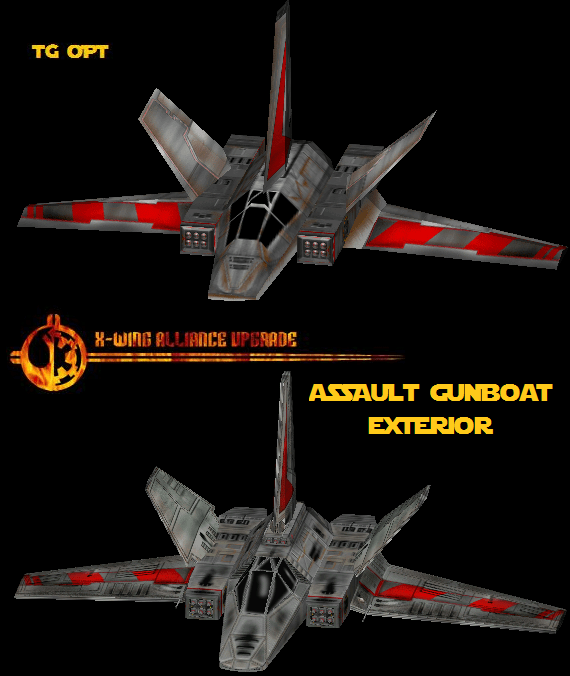 Assault Gunboat Comparison Old Vs New Image The X Wing