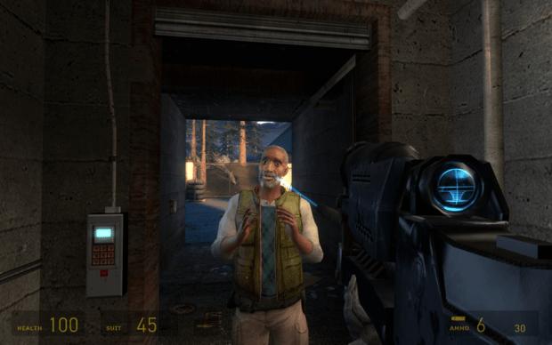 Combine Sniper Rifle Image Epsilon Eridani Mod For Half Life 2 Mod Db