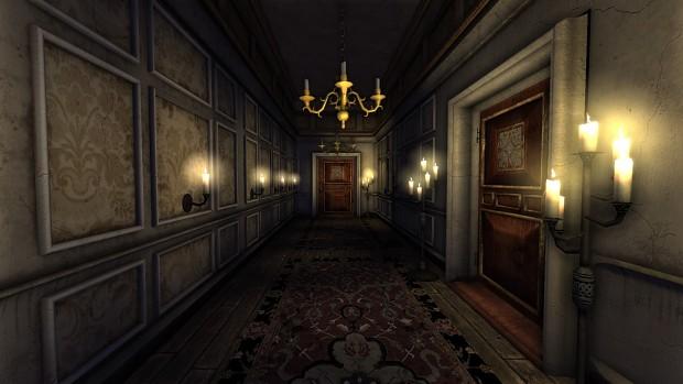 Evil Resident Hallway Tokyo