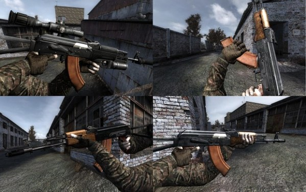 "Vanilla update ""AKS-74"" image - The Armed Zone mod for S.T ..."