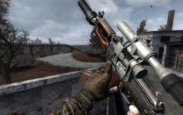 "Vanilla update ""AKS-74u"" image - The Armed Zone mod for S ..."