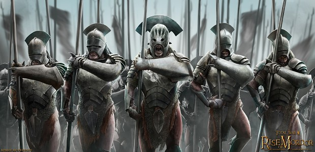 Uruk Hai Pikemen Promo Art Image Total War Rise Of Mordor Mod For Total War Attila Mod DB